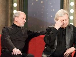 V�clav Neck�� a jeho bratr Jan v Show Jana Krause