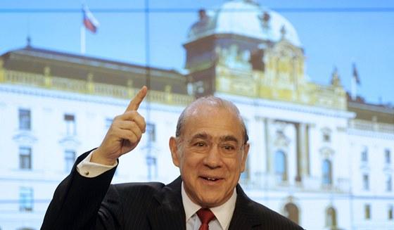 Generální tajemník Organizace pro hospodářskou spolupráci a rozvoj Ángel Gurría