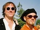 Kapela R.E.M. v kompletní sestavě: zleva Bill Berry, Mike Mills, Peter Buck a Michael Stipe