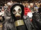Už na konci roku 2009 tisíce obyvatel protestovaly v pardubické aréně proti