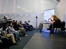Vloni v rámci veletrhu Cannafest Prague přednášel profesor Lumír Hanuš (na snímku), letos se v Praze o víkendu objeví další světoví odborníci věnující se výzkumu a léčebnému využití konopí.