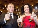 Český slavík 2011: absolutní slavice Lucie Bílá a rekordman Karel Gott (26.11.