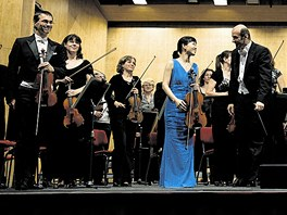 Janáčkova filharmonie na červencovém mimořádném koncertu s korejskou sólistkou