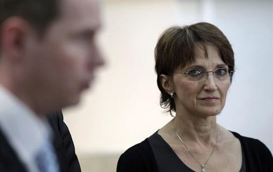 Ministryně kultury Alena Hanáková