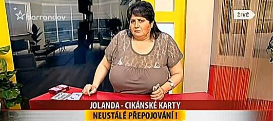 Věštkyně pořadu EZO TV Jolanda
