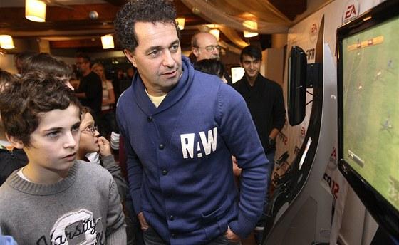 Martin Dejdar se synem Mat�jem (2011)