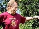 Václav Havel na Hrádečku v roce 2009