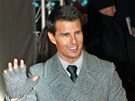 Tom Cruise na premi��e filmu Mission: Impossible - Ghost Protocol (Moskva, 8.
