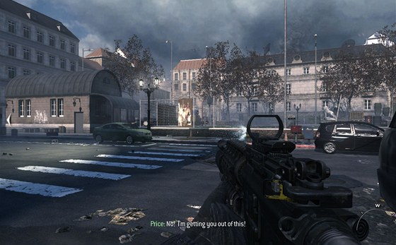 Praha v Modern Warfare 3