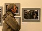 Fotografie Oldřicha Škáchy v jablonecké galerii My zachycují Václava Havla od