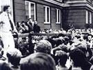 Václav Havel měl k Ostravě blíž, než by se zdálo. Unikátní snímek z června 1969