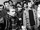 Václav Havel se  v Ostravě objevil i 3. ledna 1990, tedy pár dnů po svém prvním