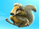 Z filmu Doba ledov� 4: kv�li �aludu je Scrat ochotn� i l�tat.