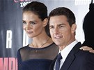 Tom Cruise  a Katie Holmesov� na premi��e filmu Mission: Impossible - Ghost