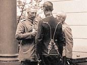 Těšín několikrát navštívil i německý císař Vilém II. (v popředí vlevo).