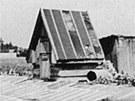 V tomto domku Antonína Sedláčka parašutisté Gabčík a Kubiš ukryli po seskoku