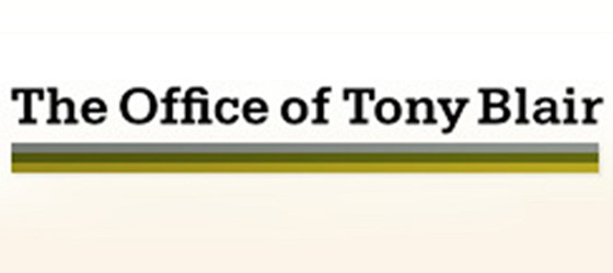 Logo kanceláře bývalého britského premiéra Tonyho Blaira