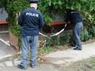 Policisté vyšetřují v Praze 10 okolnosti útoku na pobodaného muže. Pátrají po