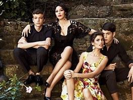 Monica Bellucci v reklamě pro Dolce&Gabbana
