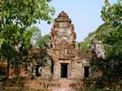 Trosky chr�mov�ho komplexu Angkor Vat v Kambod�i