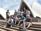 """Cirk La Putyka v australském Sydney: """"Hlava se nám točí a jsem růžoví od"""