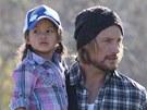 Gabriel Aubry a jeho dcera Nahla