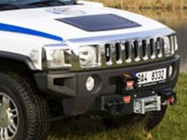 Hummer H3, který patří pražským strážníkům.