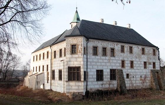 Zámek v Přerově nad Labem.