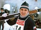 Skokan na lyžích Jiří Raška na MS 1970