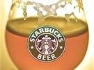 PIVO. Na alkoholické nápoje dosud nebyli zákazníci Starbucks zvyklí.