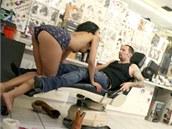 Natáčení pornofilmu (ilustrační snímek)