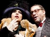 Tomáš Töpfer s Barborou Mošnovou v My Fair Lady