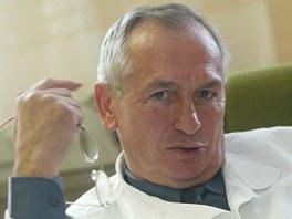 Ředitel opavské psychiatrické léčebny Ivan Drábek.