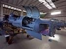 Hala číslo 3, v níž se odehrávají pravidelné kontroly létajících L-159, pochází...