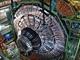 Z�b�r sestavov�n� detektoru CMS na urychlova�i LHC. Je to jeden ze dvou
