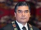 Turkmensk� prezident Gurbanguli Berdymuhamedov na archivn�m sn�mku