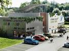 Zábavní centrum Robinson vznikne poblíž cyklostezky podél řeky Jihlavy nedaleko