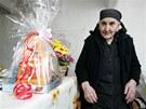 Nejstraší občanka České republiky Evangelia Čarasová oslavila 108. narozeniny.
