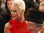 Hlavním hostem podnikatele Lugnera byla Brigitte Nielsenová.