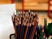 Žáci základní školy ve Frýdlantu se učí psát novým typem písma Comenia Script