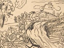 Ondřej Sekora, Ferda Mravenec, Lidové noviny, 1933