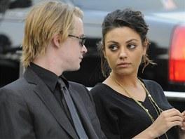 Macaulay Culkin a Mila Kunisová