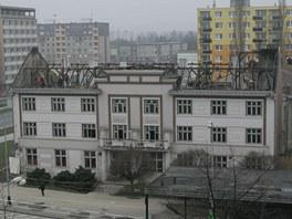 P�erovský spolkový d�m Trávník, známý jako Komuna