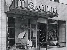 Prodejna prost�jovské mlékárny, pozd�ji sodovkárny