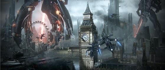 Londýn v Mass Effect 3