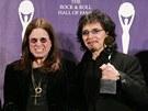 Black Sabbath v roce 2006 při uvedení do Rock'n'rollové síně slávy. Ozzy