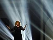 Adele na ud�len� Brit Awards (21. �nora 2012)