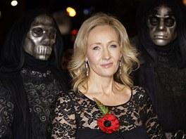 J. K. Rowlingová na premiéře filmu Harry Potter a Relikvie smrti - část 1