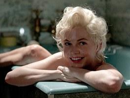 Michelle Williamsová ve filmu Můj týden s Marilyn
