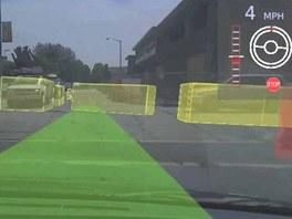 Automaticky ��zen� automobil mus� um�t ropozn�vat statick� i pohybuj�c� se